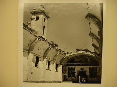 Renata von Hanffstengel (Mexican, born Germany 1934). <em>The Vault</em>, 1978. Gelatin silver photograph, image: 11 x 10 1/2 in. (27.9 x 26.7 cm). Brooklyn Museum, Gift of Marcuse Pfeifer, 1990.119.28. © artist or artist's estate (Photo: Brooklyn Museum, CUR.1990.119.28.jpg)