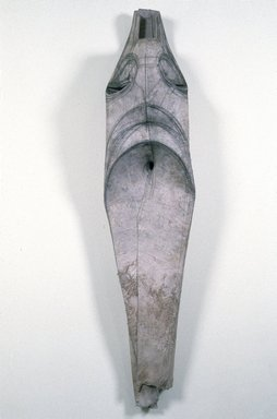 Terry Rosenberg (American, born 1954). <em>Untitled (#6)</em>, 1986. Cowhide and graphite, 59 x 27 x 14 in. Brooklyn Museum, Anonymous gift, 1990.232. © artist or artist's estate (Photo: Photography courtesy of the artist, CUR.1990.232_artist_photograph.jpg)