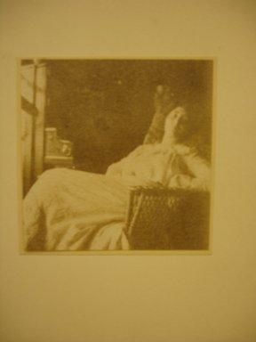 Joseph T. Keiley (American, 1869-1914). <em>Mercedes de Cordoba</em>, n.d. Platinum print, 3 9/16 x 3 1/2 in. (9.0 x 8.9 cm). Brooklyn Museum, Anonymous gift, 1991.305.3 (Photo: Brooklyn Museum, CUR.1991.305.3.jpg)