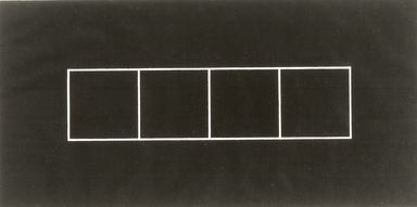 Frank Gerritz (German, born 1964). <em>Block Formation III</em>, 1990. Graphite on wove paper, each panel: 16 9/16 x 23 1/8 in. (42.1 x 58.7 cm). Brooklyn Museum, Purchase gift of Werner H. and Sarah-Ann Kramarsky, 1991.67a-b. © artist or artist's estate (Photo: Image courtesy of Emily Poole, CUR.1991.67a.jpg)