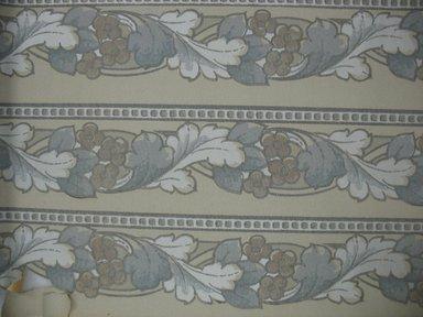 """Robert Graves Co.. <em>Wallpaper Frieze Paper</em>, first half of 20th century. Printed paper, Width: 19 1/2"""". Brooklyn Museum, Gift of Edwin Ward Bitter, Robert Bitter, Mark Bitter, and Therese Bitter Cook, 1992.153.68a-b (Photo: Brooklyn Museum, CUR.1992.153.68.jpg)"""
