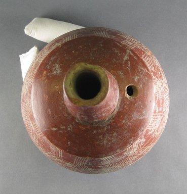 Bozo. <em>Globular Vessel</em>, 19th century?. Ceramic, height: 17 in. (43.2 cm). Brooklyn Museum, Gift of Bill and Gale Simmons, 1993.182.7. Creative Commons-BY (Photo: Brooklyn Museum, CUR.1993.182.7_top.jpg)