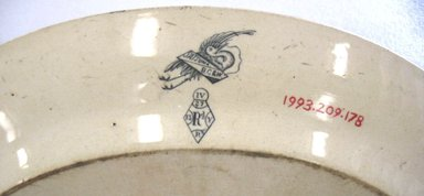 "<em>Platter, Satsuma pattern</em>., Overall: 1 7/16"" x 14 3/16"" x 11 5/16"". Brooklyn Museum, Gift of Paul F. Walter, 1993.209.178. Creative Commons-BY (Photo: Brooklyn Museum, CUR.1993.209.178_mark.jpg)"