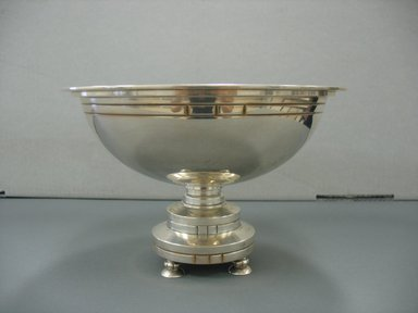 Gorham Manufacturing Company (1865-1961). <em>Footed Bowl</em>, 1925-1929. Silver, height: 8 3/8 in. (21.3 cm); diameter: 5 7/16 in. (13.8 cm). Brooklyn Museum, Marie Bernice Bitzer Fund, 1994.154.1. Creative Commons-BY (Photo: Brooklyn Museum, CUR.1994.154.1.jpg)