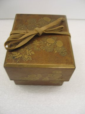 <em>Food Delivery Container</em>, 19th century. Cypress wood box, iron fittings Brooklyn Museum, Gift of Dr. and Mrs. John P. Lyden, 1994.197.3. Creative Commons-BY (Photo: Brooklyn Museum, CUR.1994.197.3.jpg)