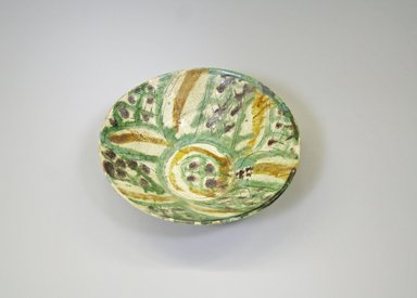 <em>Bowl</em>, 9th-10th century. Ceramic, earthenware, 2 1/2 x 7 13/16 in. (6.4 x 19.8 cm). Brooklyn Museum, Gift of Mena Rokhsar in memory of Ebrahim Khalil Rokhsar, 1995.187.5. Creative Commons-BY (Photo: Brooklyn Museum, CUR.1995.187.5.jpg)