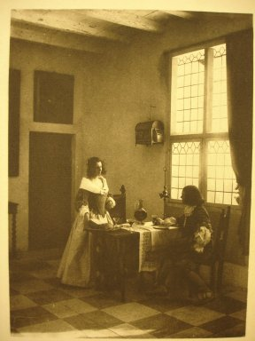 Guido Rey. <em>A Flemish Interior</em>, 1908. Photogravure, sheet: 11 7/8 × 8 1/8 in. (30.2 × 20.6 cm). Brooklyn Museum, Gift of Mitchell F. Deutsch, 1995.206.22 (Photo: Brooklyn Museum, CUR.1995.206.22.jpg)