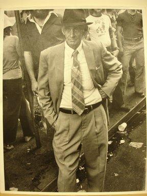 Leon Levinstein (American, 1910-1988). <em>[Untitled] (Mardigras, New Orleans)</em>, ca. 1950. Gelatin silver photograph, sheet: 14 x 10 3/4 in. (35.6 x 27.3 cm). Brooklyn Museum, Gift of Stuart Karu, 1995.209.3. © artist or artist's estate (Photo: Brooklyn Museum, CUR.1995.209.3.jpg)