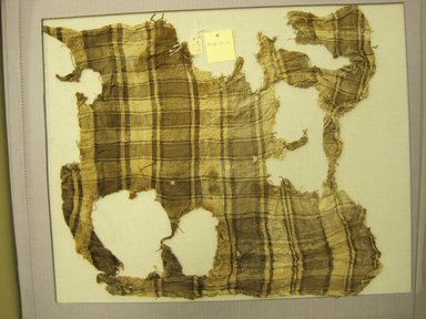 <em>Textile, Undetermined</em>, 1532-1700. Textile. Cotton, 18 1/8 × 17 5/16 in. (46 × 44 cm). Brooklyn Museum, Gift of Kay Hodnett Nunez, 1995.47.10. Creative Commons-BY (Photo: Brooklyn Museum, CUR.1995.47.10.jpg)