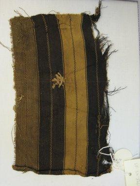 Quechua/Aymara. <em>Shoulder Cloth, Fragment</em>, 18th-19th century. Cotton, camelid fiber, 5 1/8 x 8 1/4 in. (13 x 21 cm). Brooklyn Museum, Gift of Kay Hodnett Nunez, 1995.47.127. Creative Commons-BY (Photo: Brooklyn Museum, CUR.1995.47.127.jpg)
