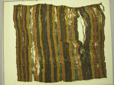 <em>Wrapping Cloth</em>, 1000-1532. Cotton, camelid fiber, (36.5 x 43.5 cm). Brooklyn Museum, Gift of Kay Hodnett Nunez, 1995.47.29. Creative Commons-BY (Photo: Brooklyn Museum, CUR.1995.47.29.jpg)