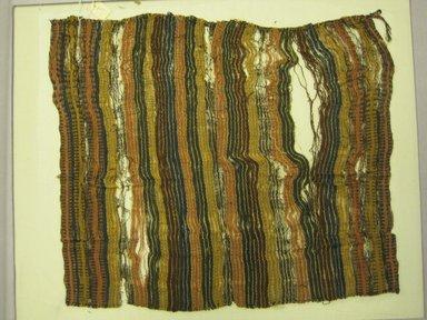 <em>Wrapping Cloth</em>, 1000-1532. Cotton, camelid fiber, (36.5 x 43.5 cm). Brooklyn Museum, Gift of Kay Hodnett Nunez, 1995.47.29. Creative Commons-BY (Photo: Brooklyn Museum, CUR.1995.47.29.jpg)