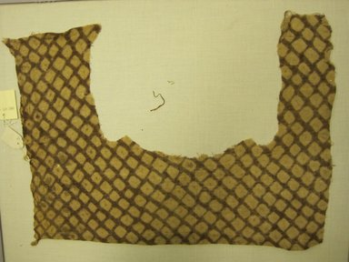 Chancay. <em>Textile, Undetermined</em>, 1000-1400. Cotton, 12 3/16 × 16 3/4 in. (31 × 42.5 cm). Brooklyn Museum, Gift of Kay Hodnett Nunez, 1995.47.47. Creative Commons-BY (Photo: Brooklyn Museum, CUR.1995.47.47.jpg)