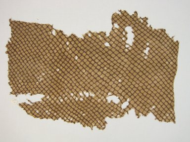 Chancay (?). <em>Headcloth, Fragment</em>, 1400-1532. Cotton, 17 × 27 3/16 in. (43.2 × 69.1 cm). Brooklyn Museum, Gift of Kay Hodnett Nunez, 1995.47.49. Creative Commons-BY (Photo: Brooklyn Museum, CUR.1995.47.49.jpg)