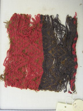 <em>Textile Fragment, Undetermined</em>, 1400-1532. Cotton, camelid fiber, (15.5 x 15.5 cm). Brooklyn Museum, Gift of Kay Hodnett Nunez, 1995.47.69. Creative Commons-BY (Photo: Brooklyn Museum, CUR.1995.47.69.jpg)