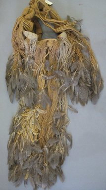 Josep Grau-Garriga (Spanish, 1929-2011). <em>Wall Hanging</em>, ca. 1970. Natural fibers and feathers, height: 60 in. Brooklyn Museum, Gift of Priscilla Cunningham and Jay C. Lickdyke, 1995.89.1. Creative Commons-BY (Photo: Brooklyn Museum, CUR.1995.89.1.jpg)