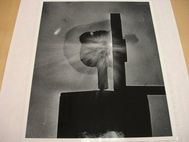 Harold Edgerton (American, 1903 - 1990). <em>Schlieren Photo</em>, n.d. Gelatin silver photograph, image: 9 1/2 x 7 5/8 in. (24.1 x 19.4 cm). Brooklyn Museum, Gift of The Harold and Esther Edgerton Family Foundation, 1996.166.19. Creative Commons-BY (Photo: Brooklyn Museum, CUR.1996.166.19.jpg)