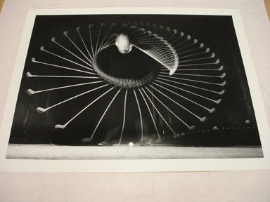 Harold Edgerton (American, 1903 - 1990). <em>Amateur Golfer</em>, 1938. Gelatin silver photograph, image: 7 5/8 x 10 1/16 in. (19.4 x 25.6 cm). Brooklyn Museum, Gift of The Harold and Esther Edgerton Family Foundation, 1996.166.20. Creative Commons-BY (Photo: Brooklyn Museum, CUR.1996.166.20.jpg)