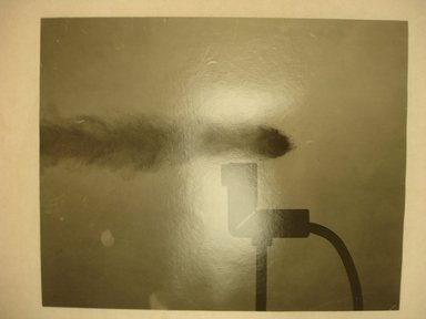 Harold Edgerton (American, 1903 - 1990). <em>Bullet</em>. Gelatin silver photograph, image/sheet: 7 11/16 x 9 9/16 in. (19.5 x 24.3 cm). Brooklyn Museum, Gift of The Harold and Esther Edgerton Family Foundation, 1996.166.29. Creative Commons-BY (Photo: Brooklyn Museum, CUR.1996.166.29.jpg)