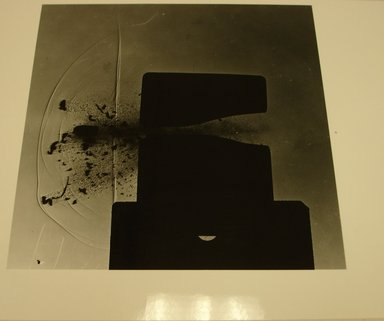 Harold Edgerton (American, 1903 - 1990). <em>Bullet Impact</em>. Gelatin silver photograph, image: 6 3/16 x 6 1/8 in. (15.7 x 15.6 cm). Brooklyn Museum, Gift of The Harold and Esther Edgerton Family Foundation, 1996.166.33. Creative Commons-BY (Photo: Brooklyn Museum, CUR.1996.166.33.jpg)