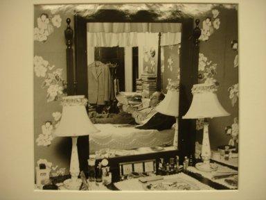Vivian Cherry (American, 1920-2019). <em>Coal Co. Doctor West Virginia (Doctor at Home)</em>, 1956. Gelatin silver photograph (vintage), image: 6 3/4 x 9 3/4 in. (17.1 x 24.8 cm). Brooklyn Museum, Gift of Steven Schmidt, 1996.241.56. © artist or artist's estate (Photo: Brooklyn Museum, CUR.1996.241.56.jpg)