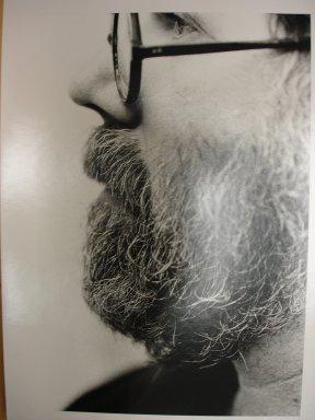 Ralph Gibson (American, born 1939). <em>Chuck Close</em>, 1993. Gelatin silver photograph, image (each): 12 1/2 x 8 1/4 in. (31.8 x 21 cm). Brooklyn Museum, Gift of Adam Sutner, 1996.244.1a-h. © artist or artist's estate (Photo: Brooklyn Museum, CUR.1996.244.1e.jpg)
