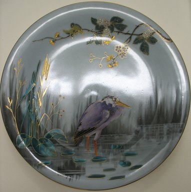 <em>Plate</em>, late 19th century. Porcelain, 7/8 x 9 1/8 x 9 1/8 in. (2.2 x 23.2 x 23.2 cm). Brooklyn Museum, Gift of the Estate of Harold S. Keller, 1999.152.299. Creative Commons-BY (Photo: Brooklyn Museum, CUR.1999.152.299.jpg)