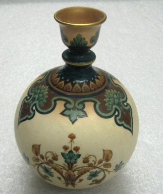 <em>Vase</em>, after 1905. Porcelain Brooklyn Museum, Gift of the Estate of Harold S. Keller, 1999.152.343. Creative Commons-BY (Photo: Brooklyn Museum, CUR.1999.152.343.jpg)
