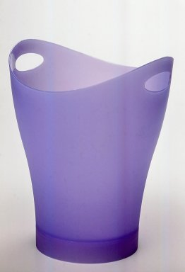 "Karim Rashid (Canadian, born Egypt, 1960). <em>Multi-purpose Container, ""Garbino,""</em> Copyright 1997. Injection-molded polypropylene, 13 x 10 x 10 in. (33 x 25.4 x 25.4 cm). Brooklyn Museum, Gift of Umbra, 1999.51.1. Creative Commons-BY (Photo: Brooklyn Museum, CUR.1999.51.1.jpg)"