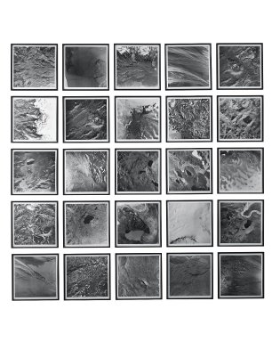 Olafur Eliasson (Danish, born 1967). <em>Cartographic Series I</em>, 2000. 25 color photogravures on paper, each photo: 20 x 20 in. (50.8 x 50.8 cm). Brooklyn Museum, Emily Winthrop Miles Fund, 2002.41. © artist or artist's estate (Photo: Jens Ziehe, courtesy Studio Olafur Eliasson, Berlin, CUR.2002.41_Jens_Ziehe_photograph.jpg)