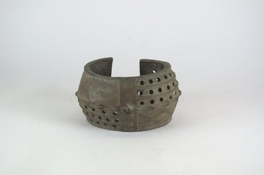 <em>Bracelet</em>. Copper alloy Brooklyn Museum, Gift of Dr. Werner Muensterberger and Michael Ward, 2006.66.30. Creative Commons-BY (Photo: Brooklyn Museum, CUR.2006.66.30_PS5.jpg)