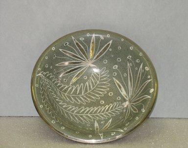 Waylande Gregory (American, 1905-1971). <em>Bowl</em>, ca. 1940. Glazed earthenware, 3 1/4 x 9 1/2 in. (8.3 x 24.1 cm). Brooklyn Museum, Gift of Paul F. Walter, 2007.10.13. Creative Commons-BY (Photo: Brooklyn Museum, CUR.2007.10.13.jpg)