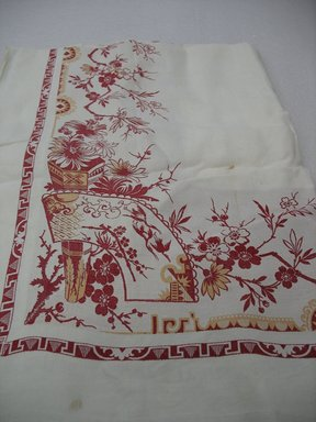 <em>Table Cloth</em>, ca. 1890. Linen, 80 x 120 in. (203.2 x 304.8 cm). Brooklyn Museum, Gift of Paul F. Walter, 2007.62.36. Creative Commons-BY (Photo: Brooklyn Museum, CUR.2007.62.36_view1.jpg)