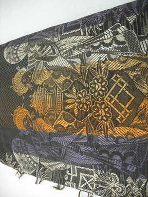 <em>Table Cover</em>, early 20th century. Blended textile, 87 1/2 x 65 1/2 in. (222.3 x 166.4 cm). Brooklyn Museum, Gift of Paul F. Walter, 2007.62.37. Creative Commons-BY (Photo: Brooklyn Museum, CUR.2007.62.37_view1.jpg)