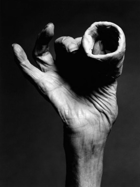 Holger Keifel (German, born 1962). <em>Louise Bourgeois, 'Hand with Clay'</em>, 2002. Inkjet print, 18 1/4 x 22 1/4 in. (46.4 x 56.5 cm). Brooklyn Museum, Gift of the artist, 2008.63. © artist or artist's estate (Photo: Image courtesy of the artist, CUR.2008.63_artist_photograph.jpg)