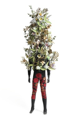 Nick Cave (American, born 1959). <em>Soundsuit</em>, 2008. Mixed media, Exhibited ACTUAL dims: 112 x 43 x 35 in. (284.5 x 109.2 x 88.9 cm). Brooklyn Museum, Mary Smith Dorward Fund, 2009.44a-b. © artist or artist's estate (Photo: Image courtesy of Robilant Voena, CUR.2009.44a-b_James_Prinz_Shainman_Gallery_photo_NC08.jpg)