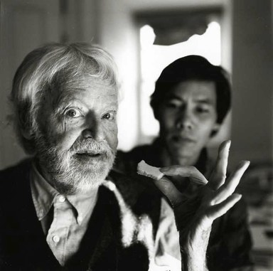 Arthur Tress (American, born 1940). <em>Charles Henri-Ford, Poet, NY</em>, 1997. Gelatin silver photograph, 11 x 14 in. (27.9 x 35.6 cm). Brooklyn Museum, Gift of William and Marilyn Braunstein, 2009.86.14. © artist or artist's estate (Photo: Brooklyn Museum, CUR.2009.86.14.jpg)