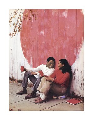 "Hank Willis Thomas (American, born 1976). <em>And They Called It ""Buppy Love"" 1983/2007</em>, 1983/2007. Digital print, 36 x 27 3/4 in. (91.4 x 70.5 cm). Brooklyn Museum, Mary Smith Dorward Fund and gift of Robert Smith, by exchange, 2010.18.16. © artist or artist's estate (Photo: Image courtesy of Charles Guice Contemporary, CUR.2010.18.16_HWT07.009_HR_Charles_Guice_Contemporary_photograph.jpg)"