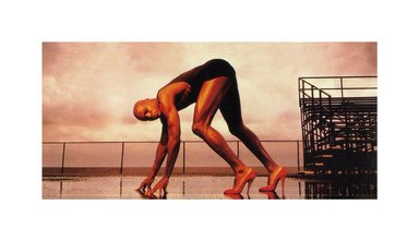Hank Willis Thomas (American, born 1976). <em>Power Is Nothing Without Control 1994/2008</em>, 1994/2008. Digital print, 19 3/4 x 35 5/8 in. (50.2 x 90.5 cm). Brooklyn Museum, Mary Smith Dorward Fund and gift of Robert Smith, by exchange, 2010.18.27. © artist or artist's estate (Photo: Image courtesy of Charles Guice Contemporary, CUR.2010.18.27_HWT08.021_HR_Charles_Guice_Contemporary_photograph.jpg)