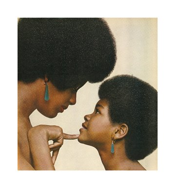 Hank Willis Thomas (American, born 1976). <em>Kama Mama, Kama Binti (Like Mother, Like Daughter) 1971/2008</em>, 1971/2008. Digital print, 32 x 30 in. (81.3 x 76.2 cm). Brooklyn Museum, Mary Smith Dorward Fund and gift of Robert Smith, by exchange, 2010.18.4. © artist or artist's estate (Photo: Image courtesy of Charles Guice Contemporary, CUR.2010.18.4_HWT08.005_HR_Charles_Guice_Contemporary_photograph.jpg)