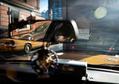 Damian Wampler (American, born 1977). <em>Untitled 3 (Taxi)</em>, 2009. Inkjet print, Sheet: 17 x 22 1/8 in. (43.2 x 56.2 cm). Brooklyn Museum, Robert A. Levinson Fund, 2010.19.2. © artist or artist's estate (Photo: Image courtesy of the artist, CUR.2010.19.2_artist_photograph.jpg)