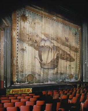 Andrew Moore (American, born 1957). <em>Fire Curtain</em>, 1996. Chromogenic photograph, 30 x 40 in. (76.2 x 101.6 cm). Brooklyn Museum, Gift of the artist, 2010.58. © artist or artist's estate (Photo: Image courtesy of the artist, CUR.2010.58_artist_photograph.jpg)