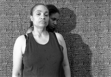 LaToya Ruby Frazier (American, born 1982). <em>Momme (Shadow), from Momme Portrait series</em>, 2008. Gelatin silver photograph, sheet: 15 1/2 x 19 1/2 in. (39.4 x 49.5 cm). Brooklyn Museum, Emily Winthrop Miles Fund, 2011.63.2. © artist or artist's estate (Photo: Image courtesy of the artist, CUR.2011.63.2_artist_photograph.jpg)