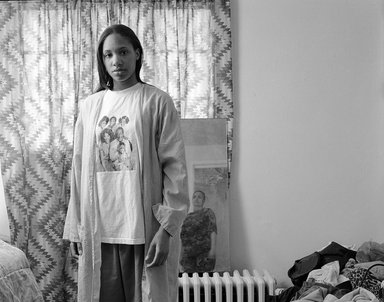 LaToya Ruby Frazier (American, born 1982). <em>Huxtables, Mom and Me</em>, 2009. Gelatin silver photograph
