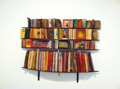Stella Waitzkin (American, 1920-2003). <em>Four Thousand Images</em>, 1993. Polyester resin, 48 x 70 x 12 1/2 in. (121.9 x 177.8 x 31.8 cm). Brooklyn Museum, Gift of Agnes Gund, New York, 2012.69. © artist or artist's estate (Photo: , CUR.2012.69_overall.jpg)