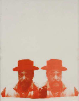 Cleveland Bellow (American, 1946-2009). <em>Duke</em>, 1968. Unique screenprint on two sheets of acrylic, Sheet: 28 x 22 in. (71.1 x 55.9 cm). Brooklyn Museum, Gift of R.M. Atwater, Anna Wolfrom Dove, Alice Fiebiger, Joseph Fiebiger, Belle Campbell Harriss, and Emma L. Hyde, by exchange, Designated Purchase Fund, Mary Smith Dorward Fund, Dick S. Ramsay Fund, and  Carll H. de Silver Fund, 2012.80.7. © artist or artist's estate (Photo: Brooklyn Museum, CUR.2012.80.7.jpg)
