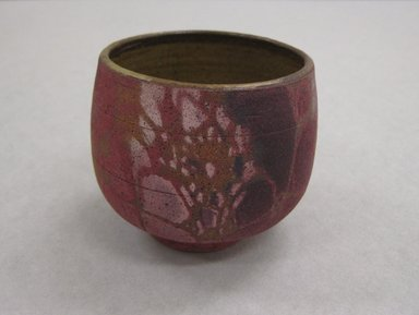 S. Frederick (American). <em>Cup, Part of 5 Piece Sake Set</em>, 1978. Stoneware, Teapot with handle: 10 13/16 x 8 1/2 x 7 in. (27.5 x 21.6 x 17.8 cm). Brooklyn Museum, Gift of the Florence Duhl Gallery, 2012.87.7. Creative Commons-BY (Photo: Brooklyn Museum, CUR.2012.87.7.jpg)