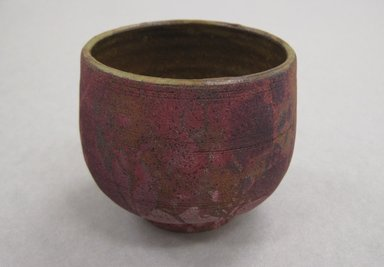 S. Frederick (American). <em>Cup, Part of 5 Piece Sake Set</em>, 1978. Stoneware, Teapot with handle: 10 13/16 x 8 1/2 x 7 in. (27.5 x 21.6 x 17.8 cm). Brooklyn Museum, Gift of the Florence Duhl Gallery, 2012.87.9. Creative Commons-BY (Photo: Brooklyn Museum, CUR.2012.87.9.jpg)