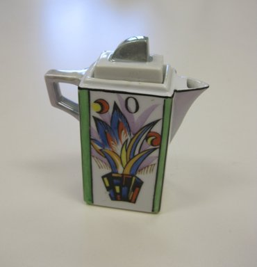 Chikaramachi Co. (1928-1946). <em>Oil Cruet, from a 6 Piece Condiment Set</em>, ca. 1930. Porcelain