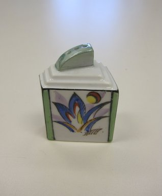Chikaramachi Co. (1928-1946). <em>Salt Shaker, from a 6 Piece Condiment Set</em>, ca. 1930. Porcelain